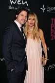 Rodger Berman and Rachel Zoe at the Pink Party 2013, Hangar 8, Santa Monica, CA 10-19-13