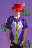 Carson Lueders at the Hub Network First Annual Halloween Bash. Barker Hangar, Santa Monica, CA 10-20-13