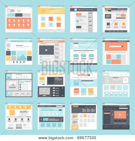 Web Template poster