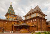 Palace Of Russian Tsar Alexey Mikhailovich In Kolomenskoye