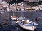 Fishing boat, Amalfi.