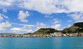 Greece. The City Of Zakintos On The Island Of Zakynthos.