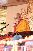 LEH, INDIA-AUGUST 5, 2012 - His Holiness the 14th Dalai Lama