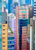 pic of land-mass  - Housing problem in Hong Kong - JPG