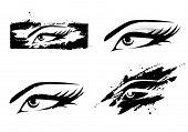 Woman Eye Set