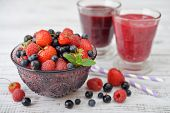 Berries And Smoothies