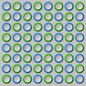 Blue green circle background pattern