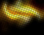 Golden diagonal mosaic background.