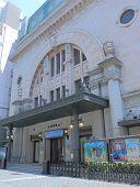 Iconic Osaka Shochiku Theatre Japan