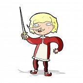 cartoon musketeer