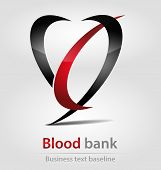 Blood Bank Business Icon