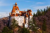 stock photo of dracula  - Bran Castle  - JPG