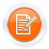 subscribe orange computer icon