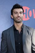 LOS ANGELES - JUL 17:  Justin Baldoni at the CBS TCA July 2014 Party at the Pacific Design Center on