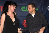 LOS ANGELES - JUL 17:  Pauley Perrette, Jon Cryer at the CBS TCA July 2014 Party at the Pacific Desi