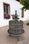 Old German Wine Press