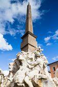 Fontana Dei Quattro Fiumi, Rome