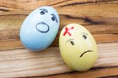 Sad Easter Eggs