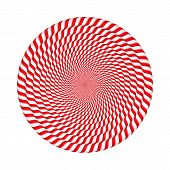 Circles Made Of Candy Canes