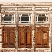 Old Wooden House Exterior, Istanbul, Turkey