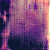 Old texture - ancient background with space for text. With different color patterns: purple (violet); orange; blue; black
