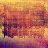 Grunge texture, distressed background. With different color patterns: purple (violet); orange; brown; yellow