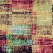 Grunge texture, may be used as retro-style background. With different color patterns: gray; blue; green; brown; yellow