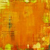 Grunge background or texture for your design. With different color patterns: yellow; brown; orange; beige