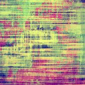 Retro background with old grunge texture. With different color patterns: yellow; purple (violet); green; blue; pink
