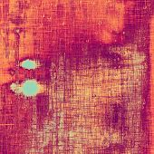 Grunge texture, may be used as retro-style background. With different color patterns: purple (violet); red; orange; yellow
