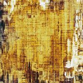 Grunge old-school texture, background for design. With different color patterns: yellow; gray; brown; beige