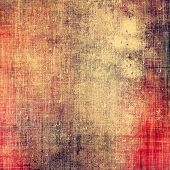 Designed background in grunge style. With different color patterns: red; orange; brown; yellow