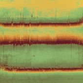 Grunge old-school texture, background for design. With different color patterns: yellow; brown; green; beige