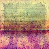 Old designed texture as abstract grunge background. With different color patterns: green; purple (violet); pink; brown; yellow