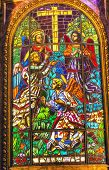 Angels Stained Glass Saint Michael's Basilica Pontifica De San Miguel Madrid Spain