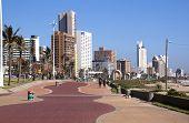 Addington Beach Promenade In Durban South Africa