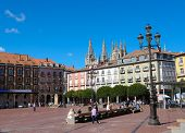 Burgos Cathedral And Plaza Mayor