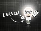 Lernen Bulb Lamp Energy Light Blackboard