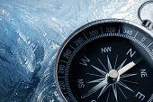 Compass On Ice