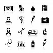Medical Equipment Icon Black