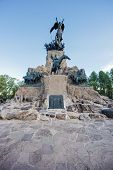 pic of mendocino  - Monument to the Army of the Andes at the top of the Cerro de la Gloria at the General San Martin Park inaugurated on February 12 1914 anniversary of the Battle of Chacabuco in Mendoza Argentina - JPG