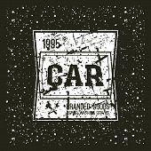 Car Service Emblem