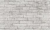picture of wall-stone  - Seamless background photo texture of gray stone brick wall - JPG