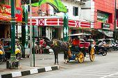 Malioboro, Main Street In Yogjakarta