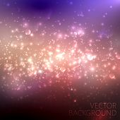 multicolored sparkling background with glowing sparkles and glit