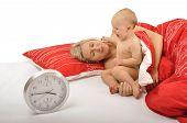 Baby Waking Up Mummy