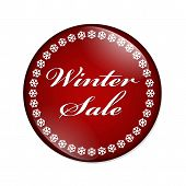 Winter Sale Button