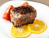 Piece Of Roasted Meat With