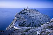 Bluish View Of The Lighthouse At Cap De Formentor