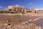 Ford Under The Kasbah Of Ait Benhaddou